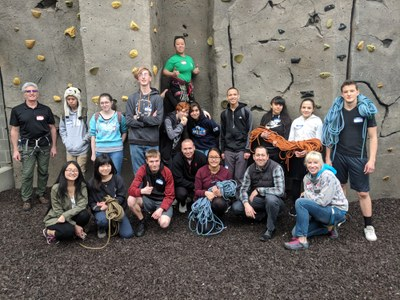 Franklin Pierce HS - Climbing - Mountaineers Tacoma Program Center