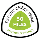 Foothills Branch Pacific Crest Trail 50 Miles