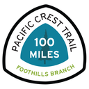 Foothills Branch Pacific Crest Trail 100 Miles