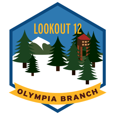 Olympia Branch Lookout 12 (patch)