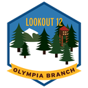 Olympia Branch Lookout Patch