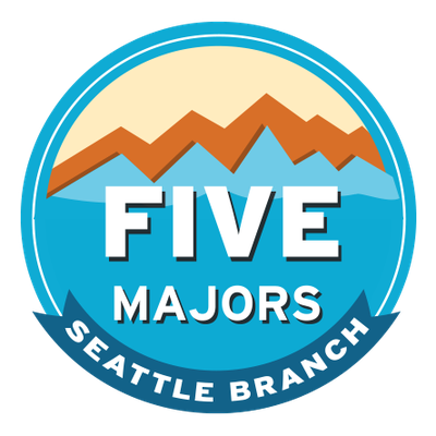Seattle Branch Five Majors