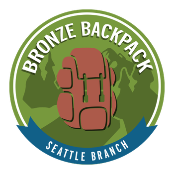 Seattle Branch Bronze Backpack