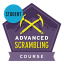 Advanced Scrambling Course Student