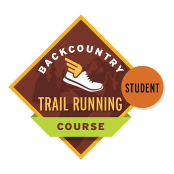 Backcountry Trail Running Course Student