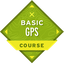 This badge represents adequate completion of The Basic GPS Course,  which expands on skills taught in Basic Navigation courses.