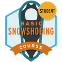 Basic Snowshoeing Course Student