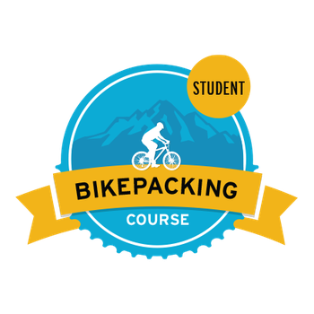 Bikepacking Course Student