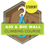 Aid & Big Wall Climbing Course Student
