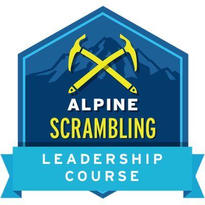 Alpine Scrambling Leadership Course