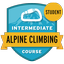Intermediate Alpine Climbing Course Student