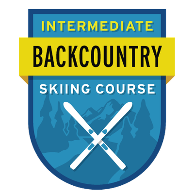 Intermediate Backcountry Skiing Course