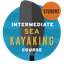 Intermediate Sea Kayaking Course Student