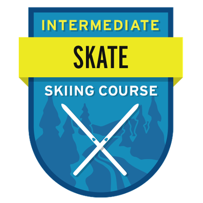 Intermediate Skate Skiing Course