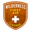 This badge represents successful completion of the Wilderness First Aid Course