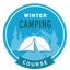 This badge represents successful completion of our Winter Camping Course.