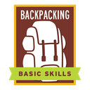 The recipient of this badge has acquired basic backpacking skills, either through lectures/seminars or equivalent experience.