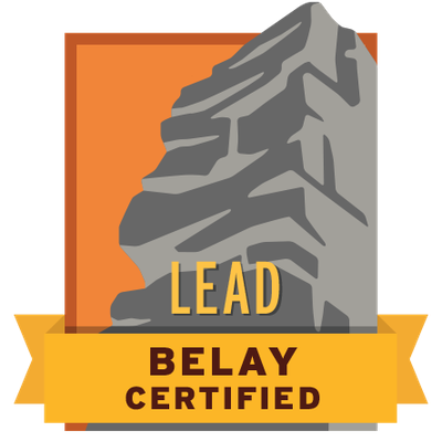 Lead Belay Certified