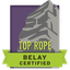 Top Rope Belay Certified